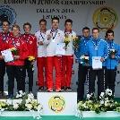 Két junior EB aranyat és egy ezüstöt nyert Péni István Tallinnban!