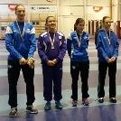 László Luca ezüstérmes lett a Felnőtt női kard válogató versenyen