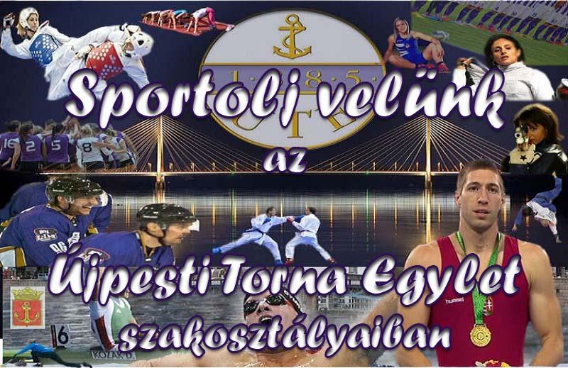 Sportolj velünk az UTE szakosztályaiban!